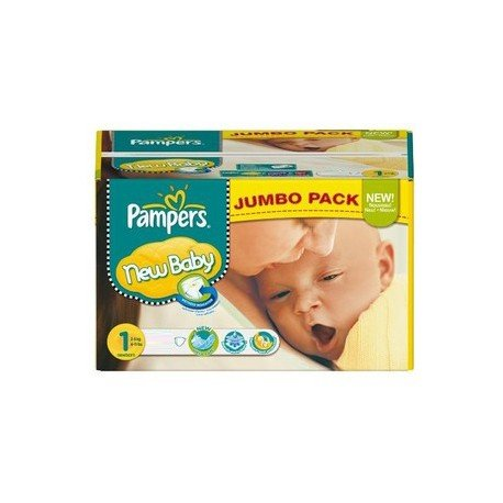 Pampers - Pack jumeaux 720 Couches New Baby Premium Protection taille 1 sur Couches Poupon