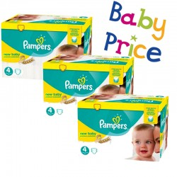 Pampers - Giga pack 256 Couches New Baby Premium Protection taille 4 sur Couches Poupon