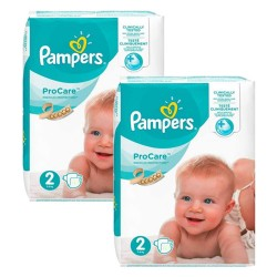 Pampers - Giga pack 216 Couches ProCare Premium protection taille 2