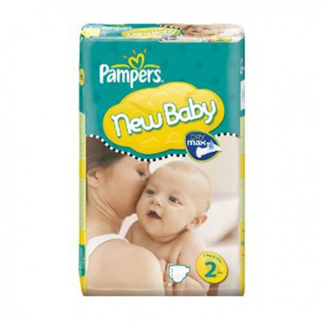 Pampers - Maxi giga pack 328 Couches New Baby Premium Protection taille 2 sur Couches Poupon