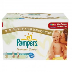 Pampers - Maxi giga pack 380 Couches Premium Care taille 3