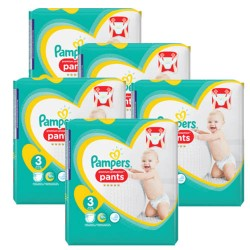 Pampers - Mega pack 140 Couches Sleep & Play taille 3