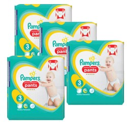 Pampers - Maxi giga pack 385 Couches Premium Protection Pants taille 3
