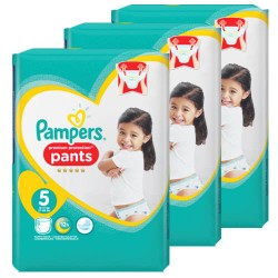 Pampers - Mega pack 160 Couches Premium Protection Pants taille 5
