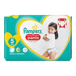 Pampers - Pack 40 Couches Premium Protection Pants taille 5