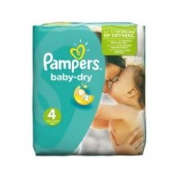 Pampers - Pack 23 Couches Baby Dry taille 4
