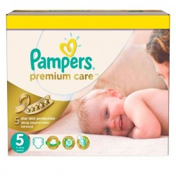 Pampers - Giga pack 200 Couches Premium Care taille 5 sur Couches Poupon