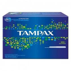 60 Tampons de Tampax taille super avec applicateur sur Couches Poupon