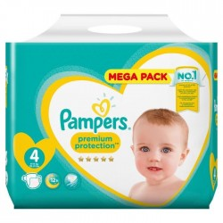 Pampers - Pack 96 Couches New Baby Premium Protection taille 4 sur Couches Poupon