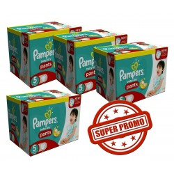Pampers - Mega pack 189 Couches Baby Dry Pants taille 5 sur Couches Poupon