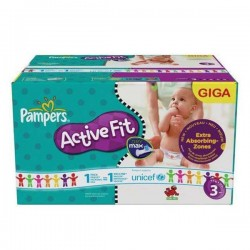 Pampers - 544 Couches Active Fit taille 3