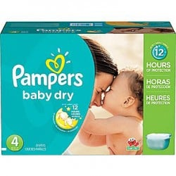 Baby Dry - 360 Couches Pampers taille 4 sur Couches Poupon