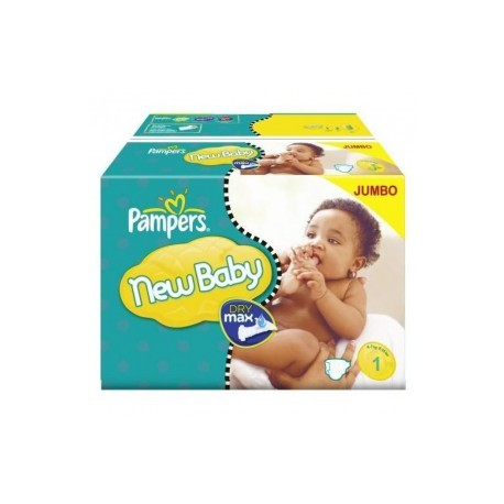 Pampers - Pack jumeaux 648 Couches New Baby Premium Protection taille 1 sur Couches Poupon
