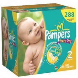 Pampers - Pack jumeaux 792 Couches Baby Dry taille 2