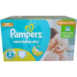 New Baby Dry - 504 Couches Pampers taille 2 sur Couches Poupon