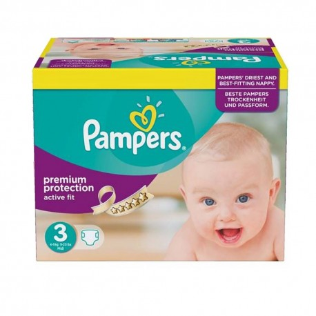 Active Fit - 123 Couches Pampers taille 3 sur Couches Poupon