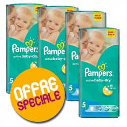 Active Baby Dry - 252 Couches Pampers 5 sur Couches Poupon