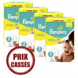 Premium Protection - 232 Couches Pampers 3 sur Couches Poupon