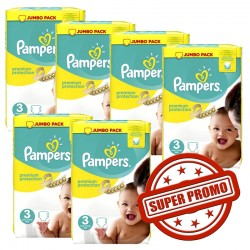 Premium Protection - 435 Couches Pampers 3 sur Couches Poupon
