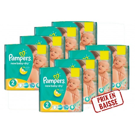 New Baby Dry - 408 Couches Pampers 2 sur Couches Poupon