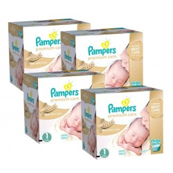 Premium Care - 308 Couches Pampers taille 1 sur Couches Poupon