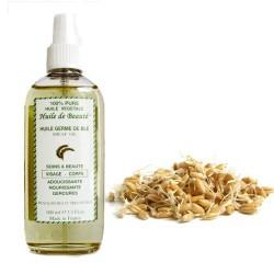 Huile de beauté aux germes de blé 100% pure végétales sur Couches Poupon