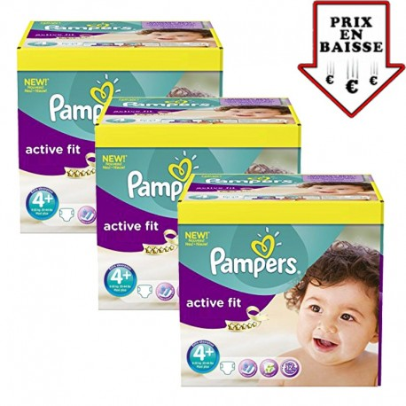 470 couches pampers active fit taille 4 pas cher sur - Couches pampers 4 pas cher ...