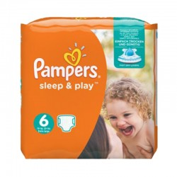 Pampers - 58 Couches Sleep & Play taille 6 sur Couches Poupon