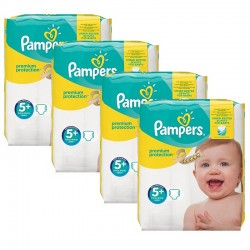 Pampers - Giga Pack 160 Couches Premium Protection - New Baby taille 5+ sur Couches Poupon