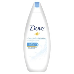 Dove Douche 250 ml Gentle Exfoliating sur Couches Poupon