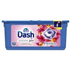 Dash Pearls 30 Coquelicot & Fleurs de Cerisier 2en1 (792 gr) sur Couches Poupon