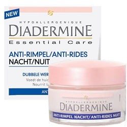 Diadermine Essential Care 50 ml Anti-Rides Nuit sur Couches Poupon
