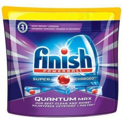 Finish Tabs 30 Powerball Quantum Max (465 gr) sur Couches Poupon