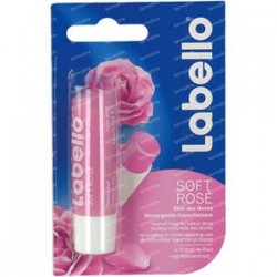 Labello Soins de Lèvres 4,8 gr Soft Rose sur Couches Poupon