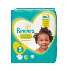 Pampers - Pack 60 Couches New Baby taille 5