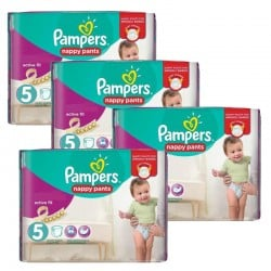 Pampers - Giga Pack 330 Couches Active Fit taille 5
