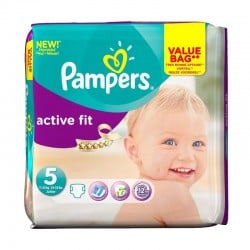 Pack 47 couches Pampers Active Fit
