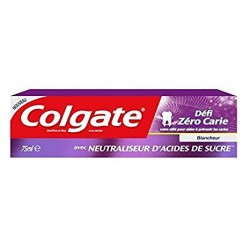 Colgate 75 ml Blancheur Defi Zero Carie sur Couches Poupon