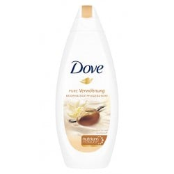 Dove Douche 250 ml Purely Pampering Shea Butter & Warm Vanilla sur Couches Poupon