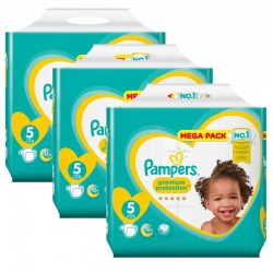 Pampers - Maxi Pack 210 Couches New Baby - Premium Protection taille 5