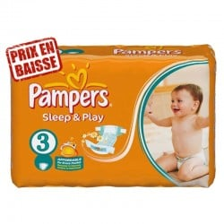 Pampers - 83 Couches Sleep & Play taille 3