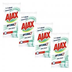 Ajax 200 Lingettes Optimal 7 avec Javel sur Couches Poupon