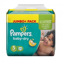 Pampers - Pack 72 Couches Baby Dry taille 5