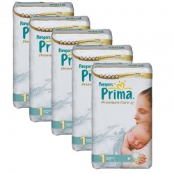 Pampers - Maxi Pack 154 Couches Premium Care - Prima taille 1 sur Couches Poupon