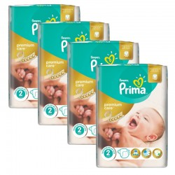 Pampers - Maxi Giga Pack 110 Couches Premium Care - Prima taille 2 sur Couches Poupon