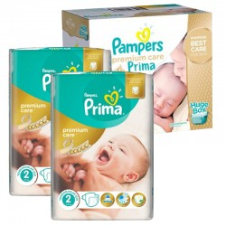 Maxi Giga Pack 242 Couches Pampers Premium Care Prima sur Couches Poupon