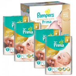 Pampers - Giga Pack 440 Couches Premium Care - Prima taille 2 sur Couches Poupon