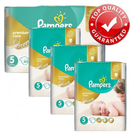 Pampers - Maxi Pack 416 Couches Premium Care - Prima taille 5 sur Couches Poupon