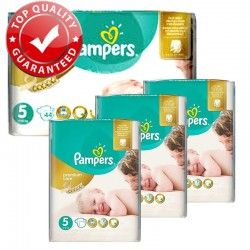 Pampers - Giga Pack 180 Couches Premium Care - Prima taille 5 sur Couches Poupon