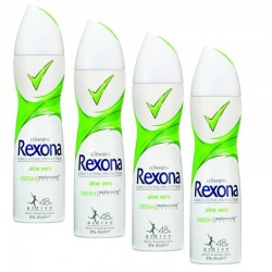 Rexona - Lot 4 Deodorants Motion Sense Aloe Vera sur Couches Poupon